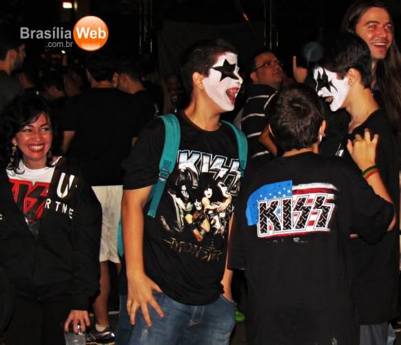 Show do Kiss em Brasília