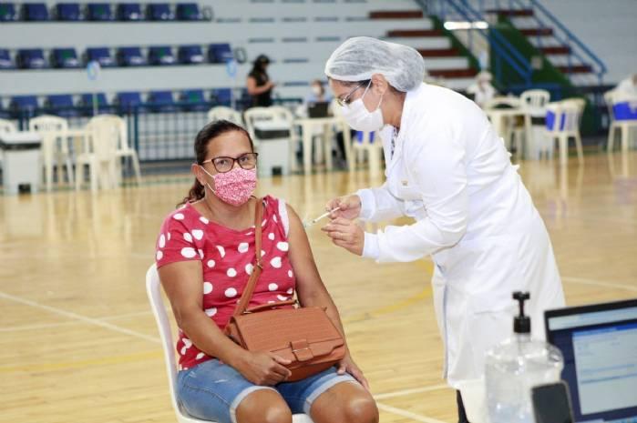 Uberlândia ultrapassa 200 mil vacinados com ao menos a primeira dose>