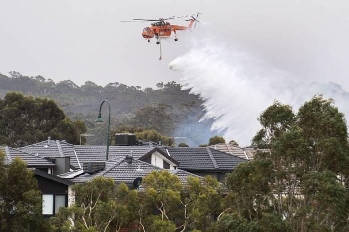 Austrália registra incêndios em vários estados