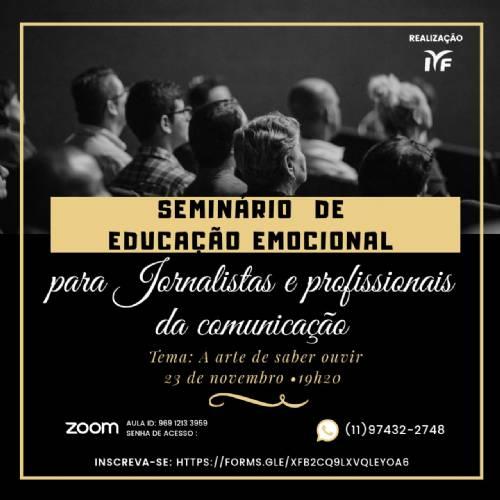 Educação Emocional para jornalistas e profissionais da comunicação
