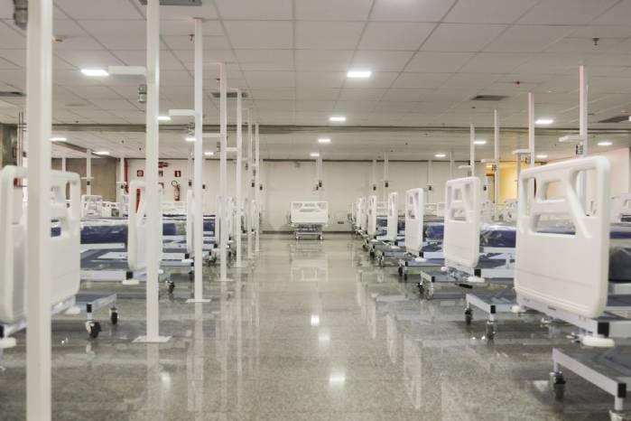 Encerramento do Hospital de Campanha do Mané Garrincha
