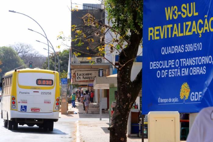 GDF investe R$ 24,8 milhões e gera 800 empregos em resgate da W3 Sul