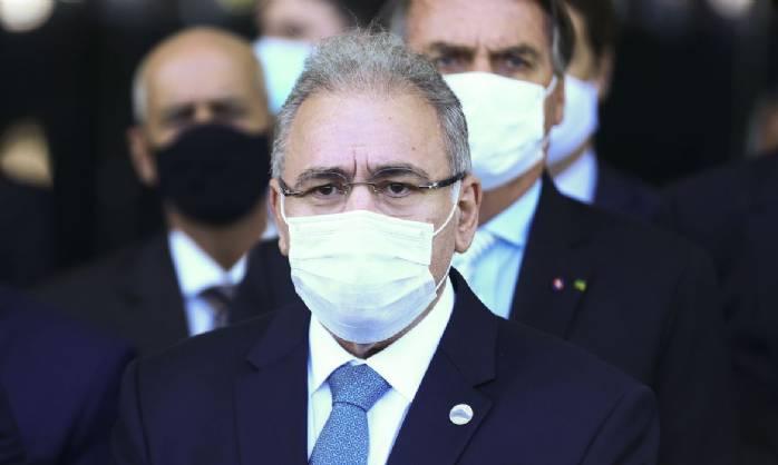Marcelo Queiroga diz que meta do governo é vacinar 1 milhão por dia
