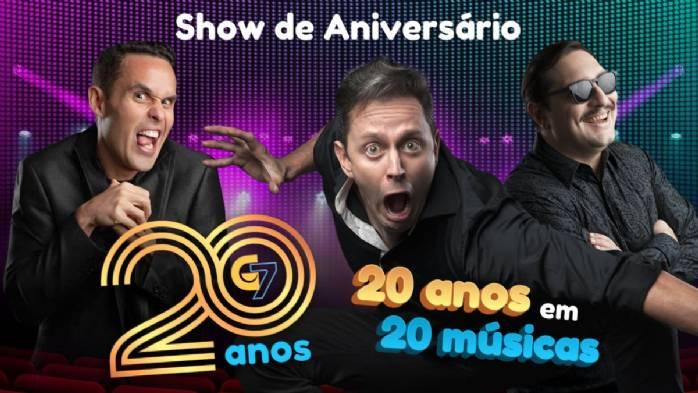 Show de 20 anos do G7