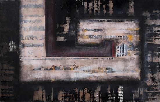 Exposição Abstração, do artista plástico Rogério Mariano