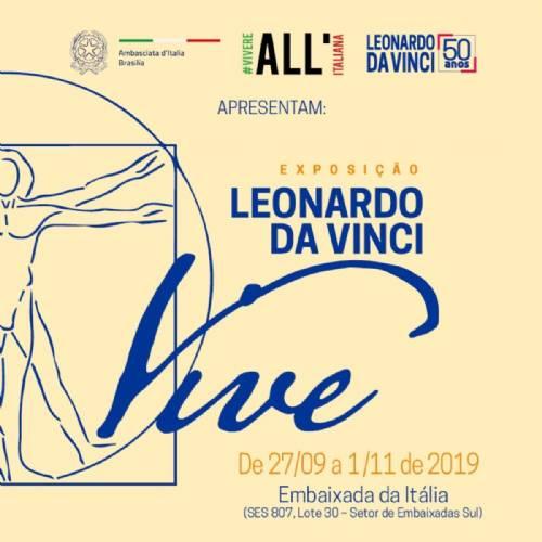 Exposição, Leonardo da Vinci Vive, reúne 21 protótipos do artista. Seis são inéditos