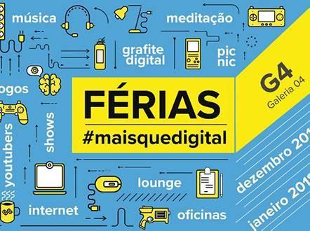 Férias MaisQueDigital no CCBB Brasília
