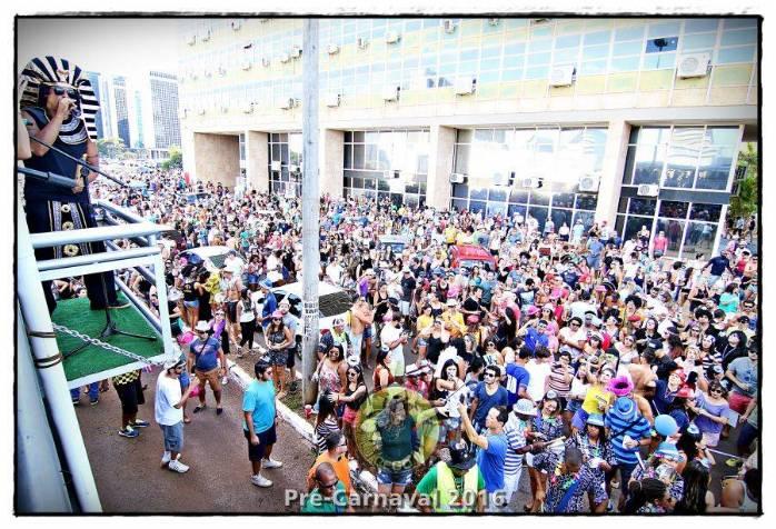 Bloco Galo Cego no Carnaval de Brasília?