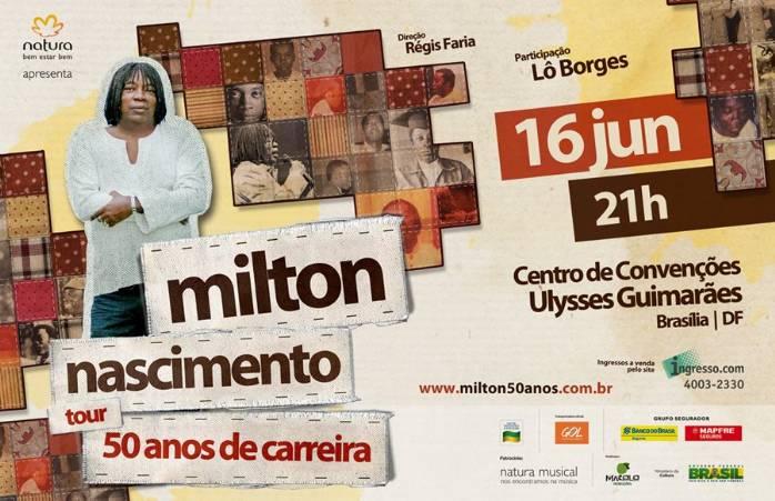 Milton Nascimento Brasilia Milton Nascimento em Sua
