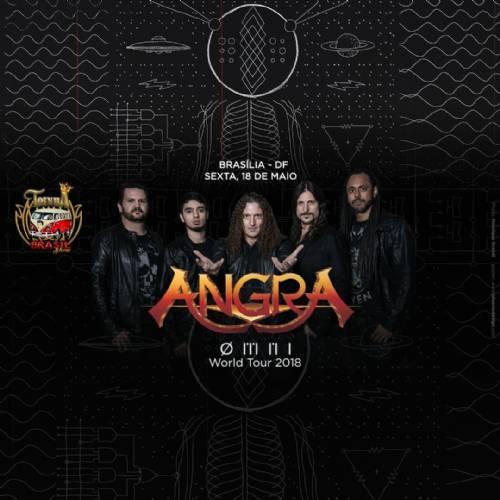 Angra World Tour 2018 em Brasília