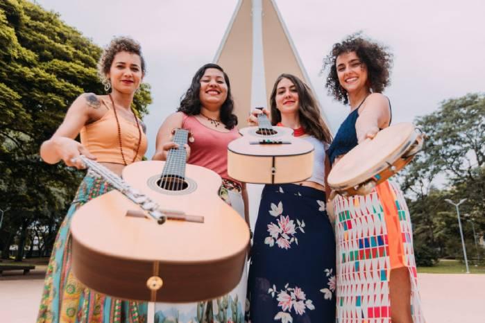 Mulheres abrem Roda de Choro de março no Terraço Shopping