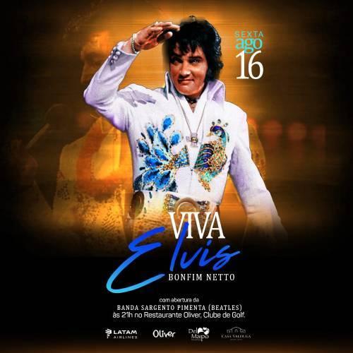 Show Viva Elvis traz toda a atmosfera dos primórdios do rock mundial para o palco