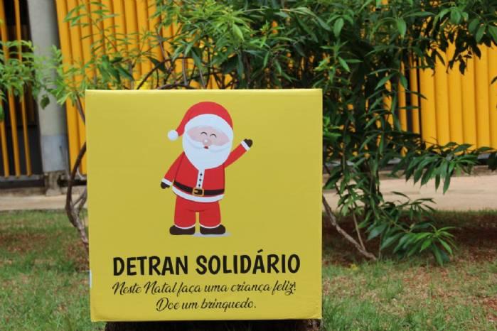 Detran/DF promove ação solidária