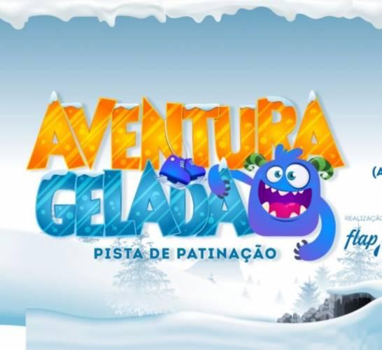 Pista de patinação Aventura Gelada chega ao Taguatinga Shopping>