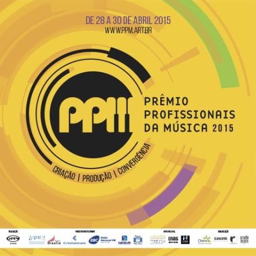 Começa amanhã o Prêmio Profissionais da Música 2015
