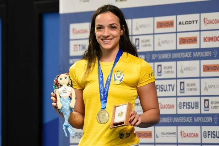 Brasil conquista recorde de ouros na Universíade de Nápoles