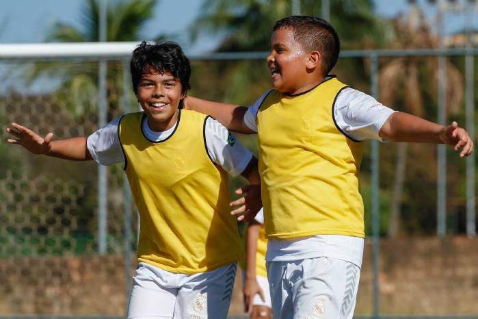 Brasília Recebe Clínica de Treinamento de futebol do Real Madrid