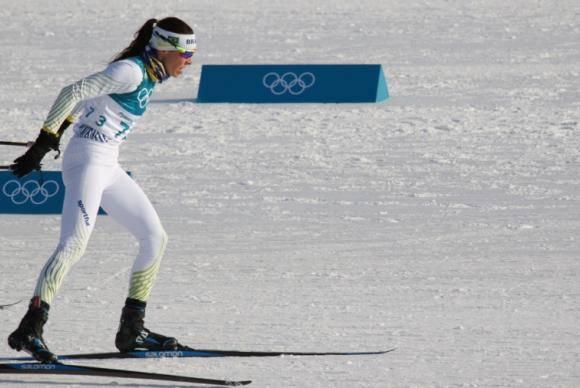 Jaqueline Mourão fica em 74º lugar nos Jogos Olímpicos de Inverno
