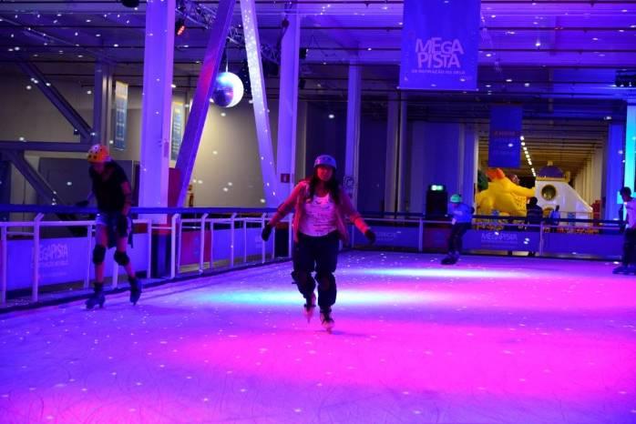 Megapista de Patinação no gelo>
