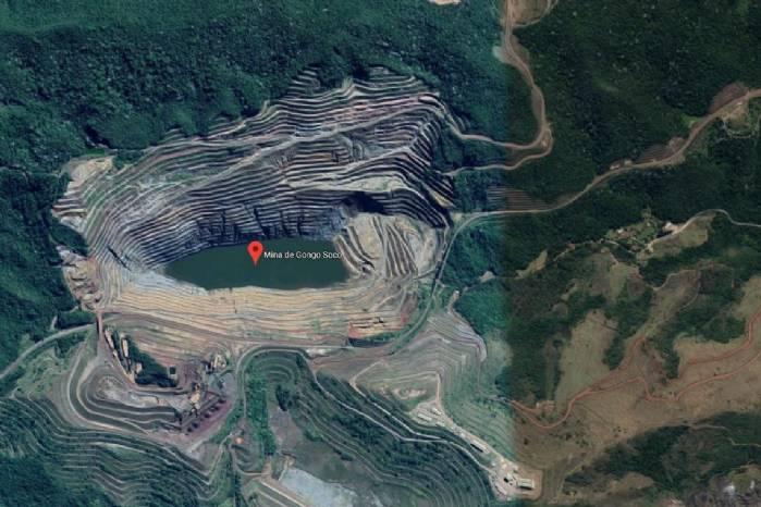 Barão de Cocais: Talude de mina se movimenta 42 centímetros por dia