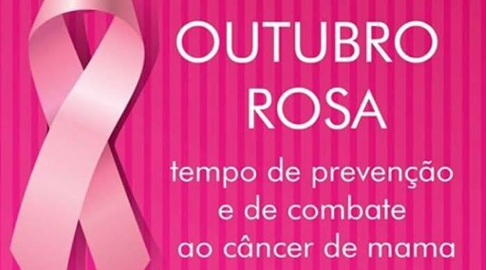 Outubro Rosa traz mais incentivo à prevenção do Câncer de Mama