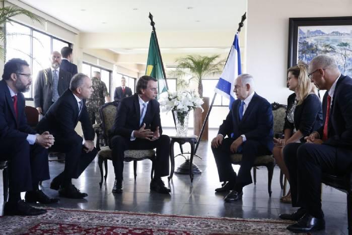 Bolsonaro diz que Brasil e Israel devem aprofundar parcerias no futuro