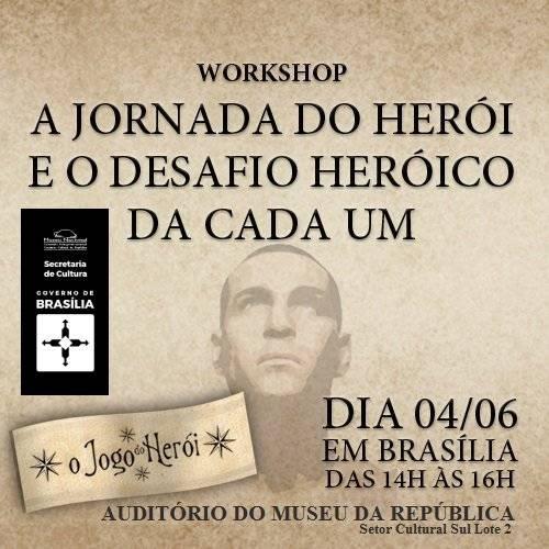 Workshop no Museu Nacional - A Jornada do Herói e o Desafio Heroico de Cada Um