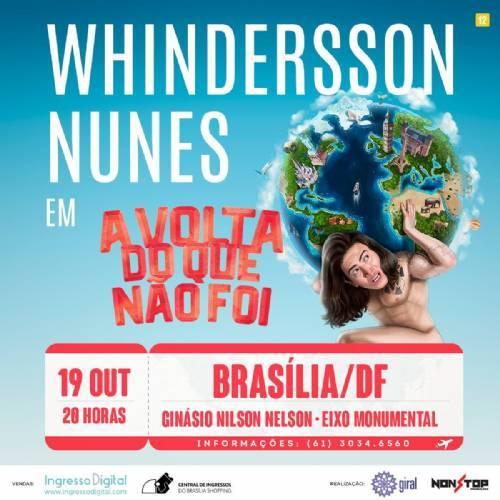 Whindersson Nunes com show inédito em Brasília!