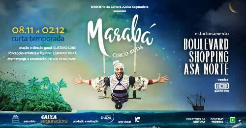 Companhia Rudá traz a Brasília o espetáculo MARABÁ
