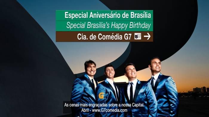 Grupo G7 - Especial Aniversário de Brasília