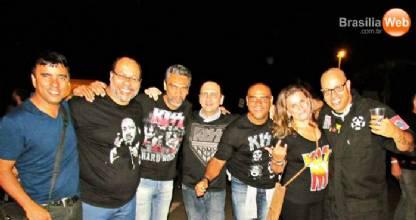 Show do Kiss em Brasília - Alexandre Podrão do Detrito Federal e amigos