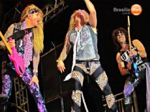Show do Kiss em Brasília - Steel Panther
