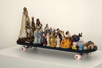 Três olhares sobre a coleção sérgio carvalho  no museu dos correios em Brasília
