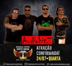 Banda AudioHtiz confirmada no Brasília Capital Moto Week 2019