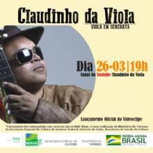 Claudinho da Viola apresenta o projeto - Viola em Serenata
