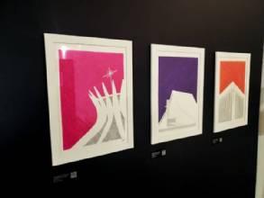 Exposição, Brasília em Linhas,  foi lançada no  Espaço Lúcio Costa