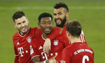 Bayern atropela Schalke e abre sete pontos na liderança do Alemão