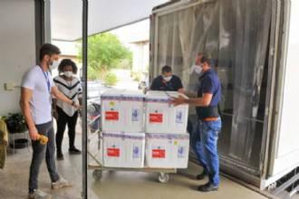 DF recebe mais 37.400 doses da vacina CoronaVac