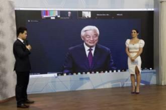 Rede Brasil de Televisão entrevista Pastor Ock Soo Park ao vivo