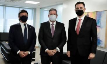 Fux, Lira e Pacheco discutem solução via Judiciário para precatórios