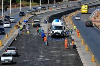 Obras do BRT-Sul têm 30% de trecho executado