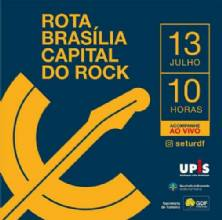 Brasília ganha roteiro turístico sobre as bandas da cidade no Dia Mundial do Rock