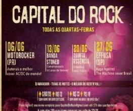 Promoção - Capital do Rock