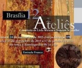 Brasília 12 Ateliês - Exposição que conta um movimento da cidade