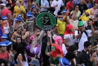 Bloco pré-carnavalesco Galo Cego