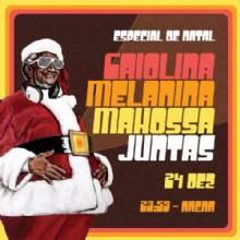 Kl Jay comanda o, Especial de Natal, da Makossa, Melanina e Criolina