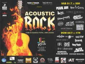 ACOUSTIC ROCK FEST -  Bandas total unplugged