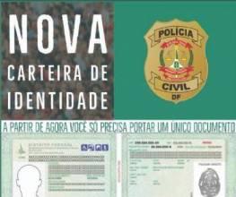 Polícia Civil emite novo RG que traz benefícios ao cidadão