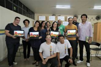Parceria com ONG rende a doação de 40 computadores para Escolas Municipais