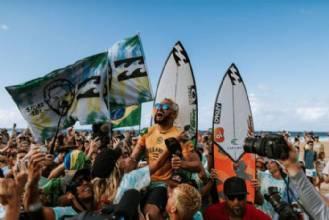 Em 2019, Brasil foi o país do surfe